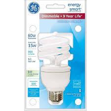 ge lighting 89623 energy smart spiral cfl 15 watt 60 watt