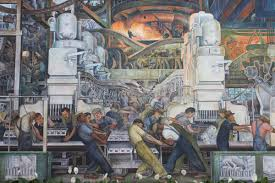 Coit Tower Murals Wpa by 10 Labour Rights Murals Widewalls
