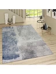 paco home kurzflor wohnzimmer teppich used look mit rokoko muster modern in braun beige klingel