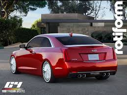 Cadillac ATS Coupe custom cadillac caddy gm ats rotiforms
