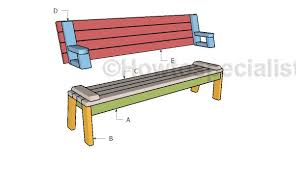 folding picnic table plans howtospecialist how to build step