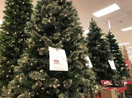 Slim Pre Lit Christmas Trees Canada by Target Over 40 Off Artificial Christmas Trees U2013 Hip2save