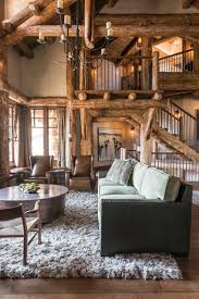 Rustic Style Living Room Design