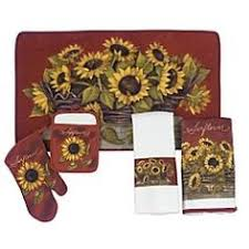 Inspirational Sunflower Kitchen Decor Country Collection Iron Farmhouse Rustic