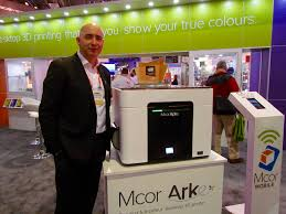 Yesterday At The Consumer Electronics Show MCOR Announced Arke A Full RGB Color Desktop 3D Printer Capable Of Producing Intricately Textured