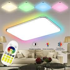 lzq 48w ultraslim led deckenleuchte flur wohnzimmer kinderzimmer wand deckenle schlafzimmer küche licht 48w rgb
