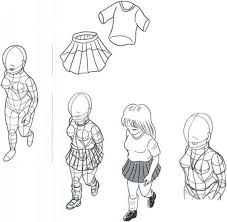 Manga Female Clothing Drawings