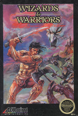 NES Wizards and Warriors