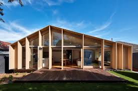 100 Glass Extention 60s Aussie House Changes Face With Timberandglass Extension Curbed