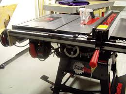 sawstop contractor saw review router forums