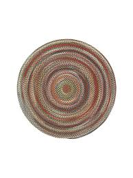 Homespice Decor Cotton Braided Rugs by Brown Portland Braided Rug Cottage Home