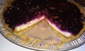 Strawberry Blueberry Cream Cheese Pie