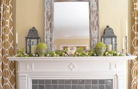 Mantel Decorating Ideas For Spring With
