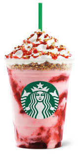 Starbucks Philippines Strawberry Cheesecake Frappuccino