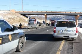 100 Truck Rollover Accident Closes I25 Wednesday KRTN Enchanted Air Radio