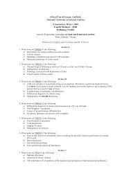 Ulcerative Colitis Pathology Exam Docsity