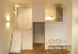 300 Square Foot Micro Studio Loft Apartment With Space Saving Design