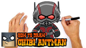 How To Draw Ant Man