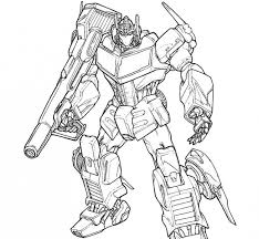 To Print Optimus Prime Coloring Page 20 In Pages Online With