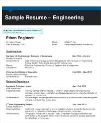 Resume For Freshers Engineering Students Fresher In Format Mechanical Engineer Pdf