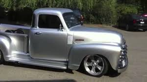 100 Chevy Hot Rod Truck 52 Pickup Street YouTube