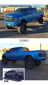 100 Build Dodge Truck One Hell Of A Wrap And Build For SEMA On This Ram By 2one3