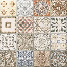 45x45 cm porcelain moroccan style floor wall patchwork tiles