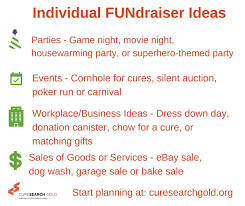 Holiday FUNdraiser Ideas To Support Childrens Cancer Research
