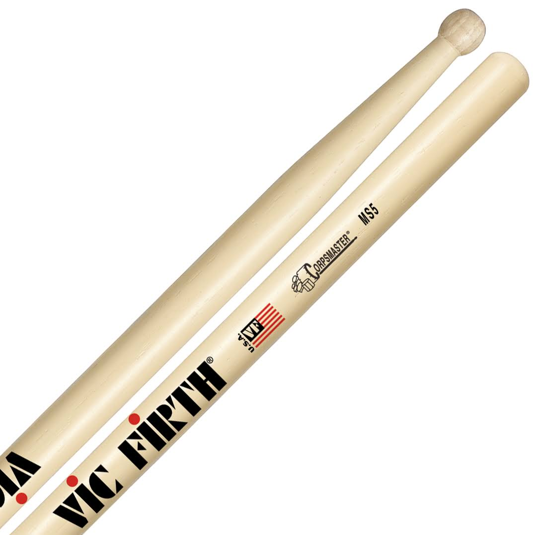 "Vic Firth MS5 Corpsmaster Drumsticks - 17"" x 0.71"""