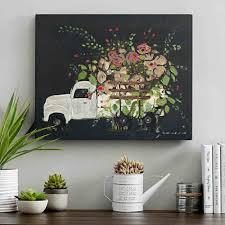 Es Flower Truck Canvas Art Print Walls And Wall Decor Wallcom S Framed Greeting