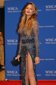 Chrissy Teigen possible Wardrobe Malfunction at WHCD Imgur