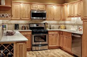 Maple Cabinets Kitchen Very Attractive Design 11 Park Avenue Raised Panel Honey Solid Wood