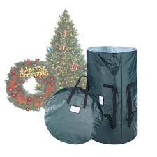 Green Extra Large Artificial Tree And Wreath Storage Bag
