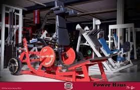 100 Powerhaus The Gym With New Hammer Strength Equipment Gym