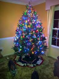 3ft Christmas Tree With Lights by Decorations Christmas Trees Decorated Walmart Christmas