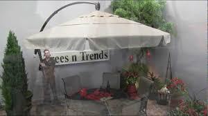 Patio Umbrella Base Walmart by Garden Design Garden Treasures Offset Umbrella Lowes Umbrellas