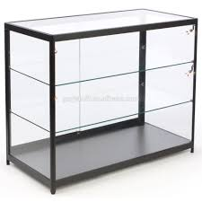 Storage Acrylic Display Box Wall Mount Glass Cabinet Mountable Case Store Cases Floor Standing Mounted