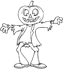 Crafty Design Kids Coloring Pages Halloween Free Printable