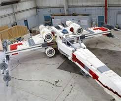 Lego X Wing Stand by Star Wars Death Star Lego Set