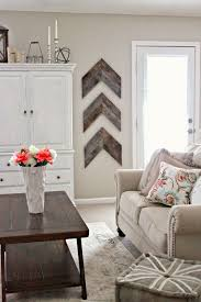 4 Barnwood Chevron Accent Wall Decor