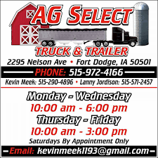 Ag Select Truck And Trailer - Home | Facebook