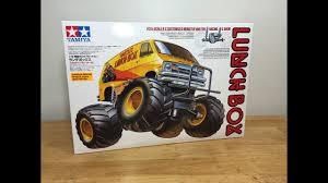 100 Monster Truck Lunch Box Tamiya 112 Box Van Unboxing
