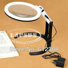 Lighted Magnifier Desk Lamp by Table Lamp Desktop Lamp Magnifying Glass Desk Magnifier Table