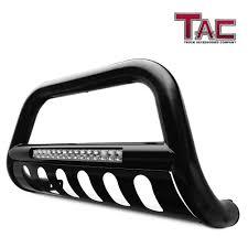100 Dodge Truck Accessories TAC 3 Blk LED Lighting Bull Bar For 20102019 RAM 2500 3500