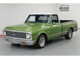 1972 Chevrolet C10 For Sale | ClassicCars.com | CC-1135037 1971 Chevy Short Box K10 Cheyenne Chevrolet 6772 Pickup Gmc 1972 Truck For Sale Craigslist Beautiful 72 Southern Kentucky Classics Welcome To Gmc Suburban For On Autotrader C10 One Owner Barn Find By Vtwinstov8scom Youtube Classic Chevy Cheyenne Trucks Super 4x4 196372 Long Bed Cversion Kit Installation Brothers Bel Air Overview Cargurus 1966 Parts All About Tci Eeering 471954 Suspension 4link Leaf 2018 Silverado 1500 In Sylvania Oh Dave White