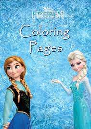Mini Coloring Book Disney Frozen By EmilySweetDesigns 299