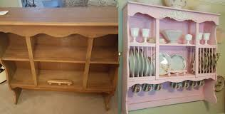cabinet shabby chic wall mounted china cabinets and hutches with