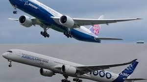 boeing 777 extended range beyond the one inch length difference airbus a350 1000 vs