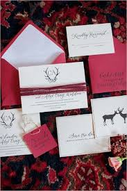 Hot Pink Wedding Invitations With Twine And Calligraphy For A Colorful Winter