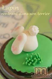 petites décorations de pâques en pâte à sucre ou pâte d amande